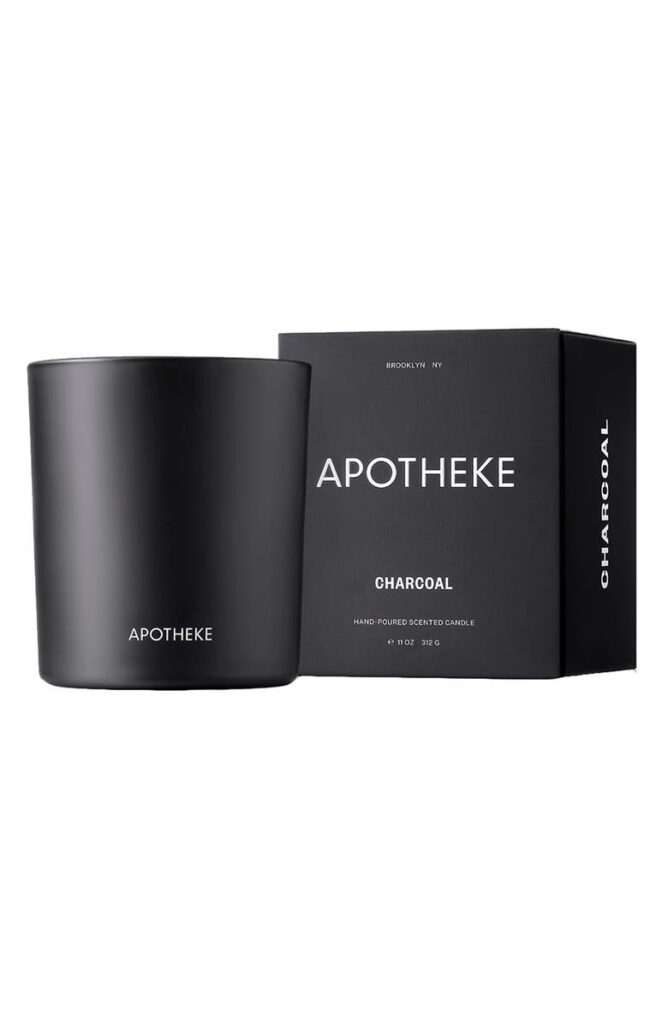 Signature Charcoal Candle APOTHEKE $38.00