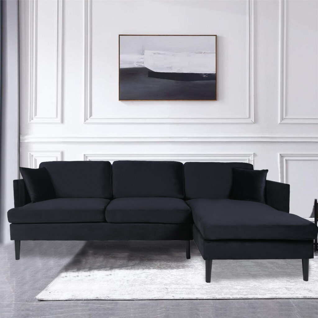 Sectional Sofa Set for Living Room with L Shape Chaise Lounge $849.99