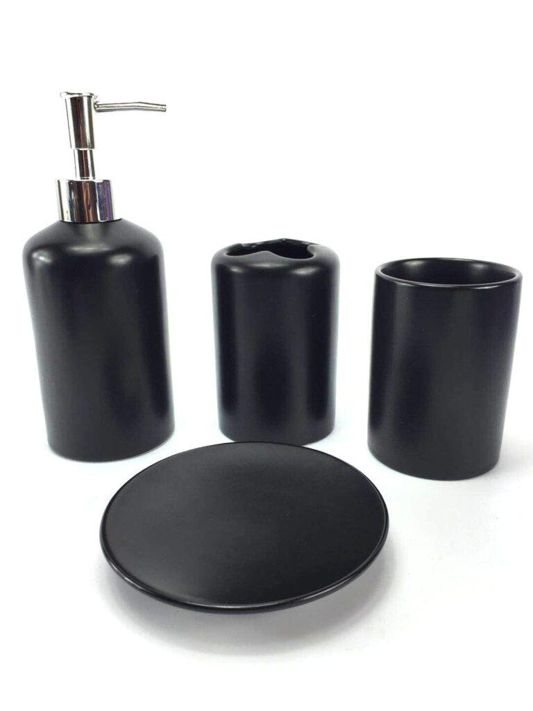 WPM 4 Piece Ceramic Bath Accessory Set $29.99