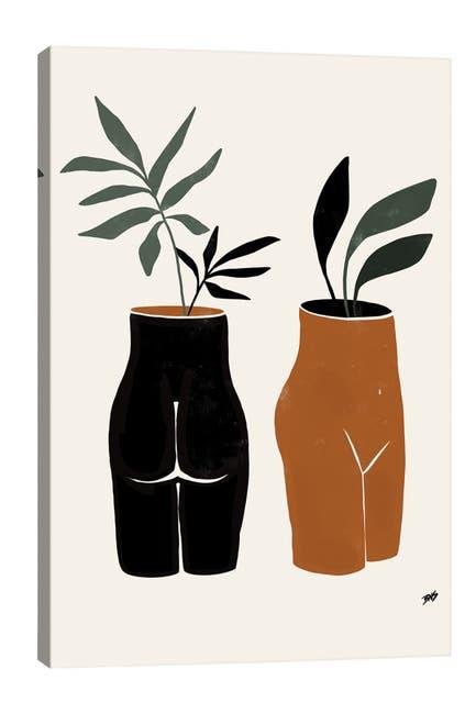iCanvas Nude Planters by Bria Nicole Canvas Art $116.97