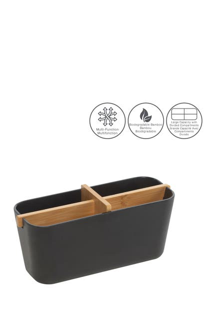 Moda At Home Multifunctional Bamboo Storage Container $12.97
