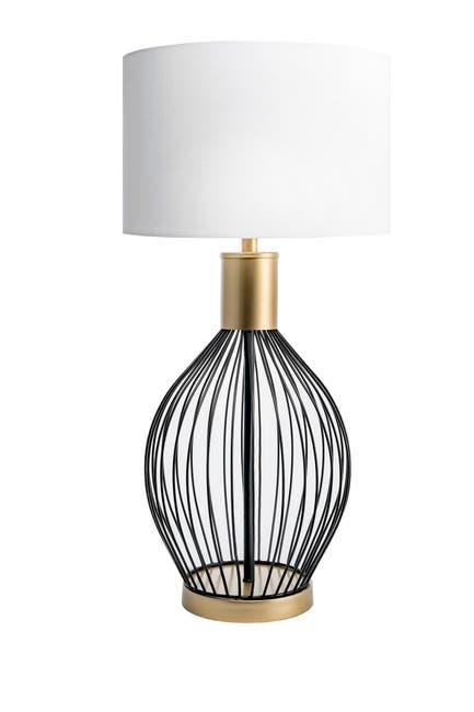 """nuLOOM Black Temecula 23\"""" Iron Table Lamp $94.97"""