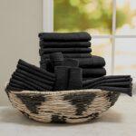 Baltic Linen 100% Cotton 24-Piece Cotton Bath Towel Set $59.99