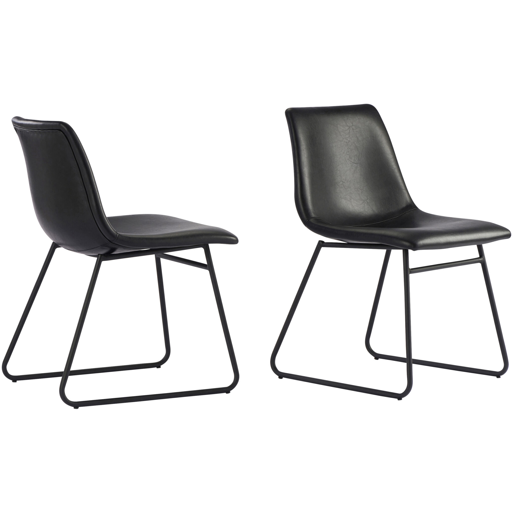 Better Homes & Gardens Theodore Dining Chairs, Set of 2, Black $104.99