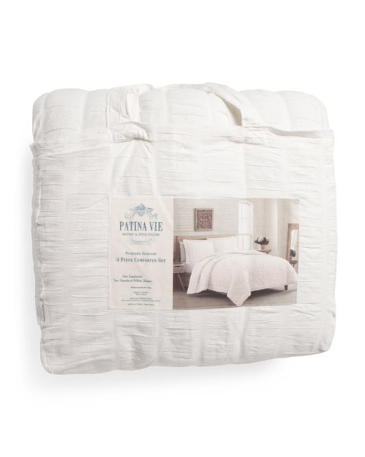 PATINA VIE Monarch Jacquard Comforter Set $59.99 — $79.99