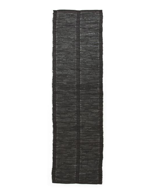 LEMIEUX ET CIE Leather Hand Woven Runner $49.99 — $59.99