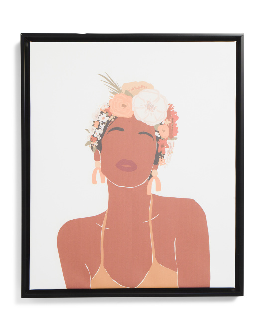 THE SOW CO 20x24 Sister Flower Child Wall Art $24.99