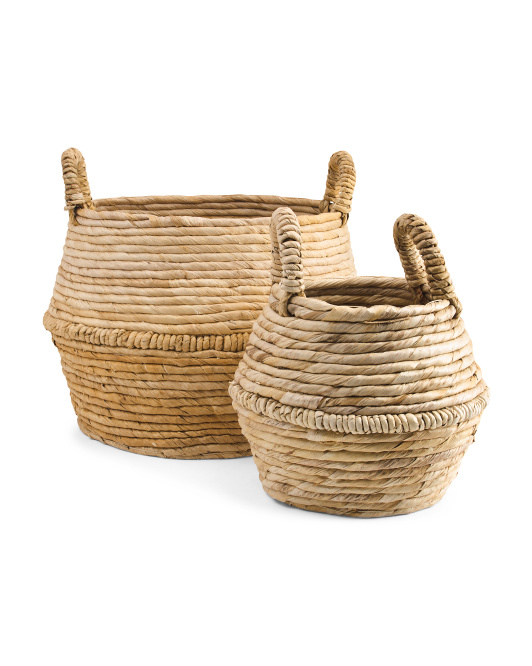 MADE IN INDONESIA Banana Belly Basket Collection $19.99 — $39.99
