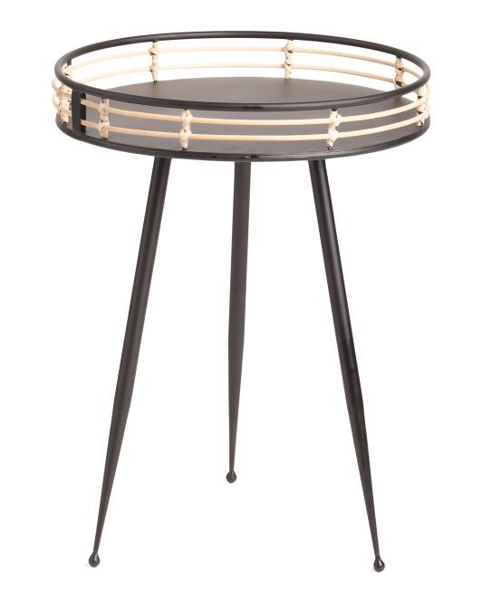 UMA Metal Side Table $59.99