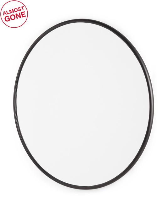 RACHEL RACHEL ROY 31in Round Mirror $99.99