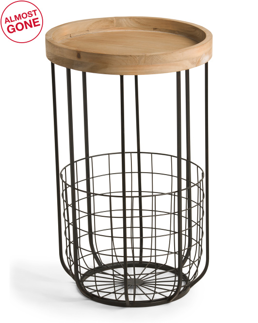 UMA Caged Accent Table $79.99