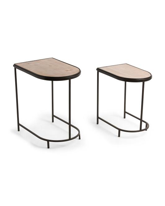 UMA Set Of 2 Nesting Tables $99.99