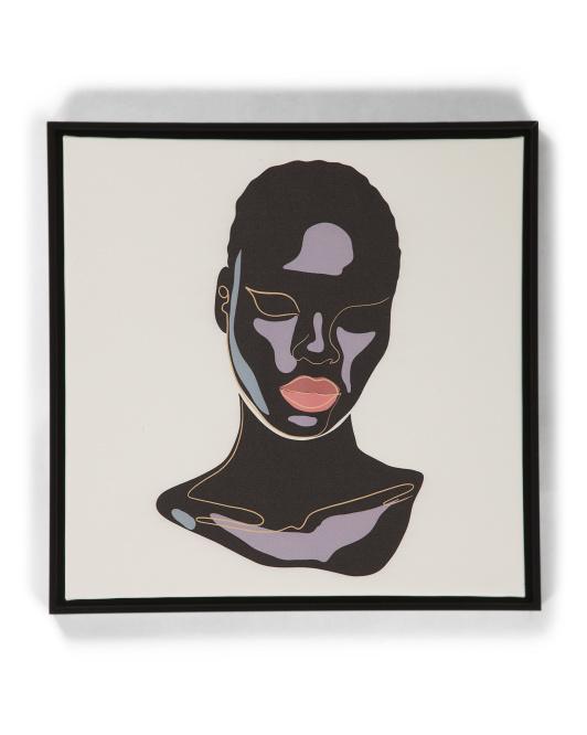 THE SOW CO 24x24 Black Beauty Wall Art $29.99