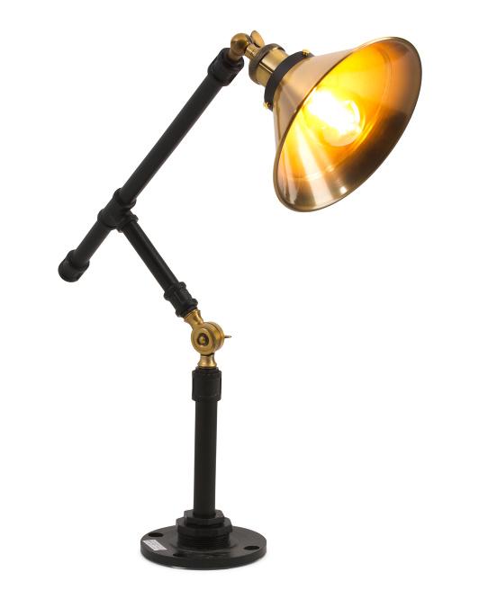 JG MERCANTILE Industrial Desk Lamp $49.99