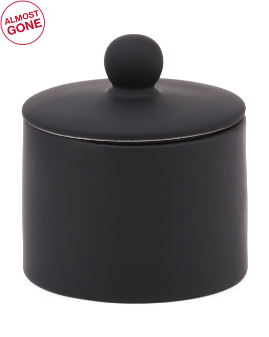 SPA LUXE Rubberized Soft Touch Canister $9.99