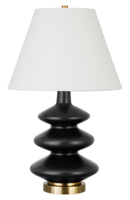 Hudson & Canal Carleta Matte Black Triple Gourd Table Lamp $112.97