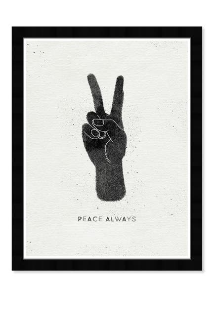 Wynwood Studio Peace Always Framed Art $28.97