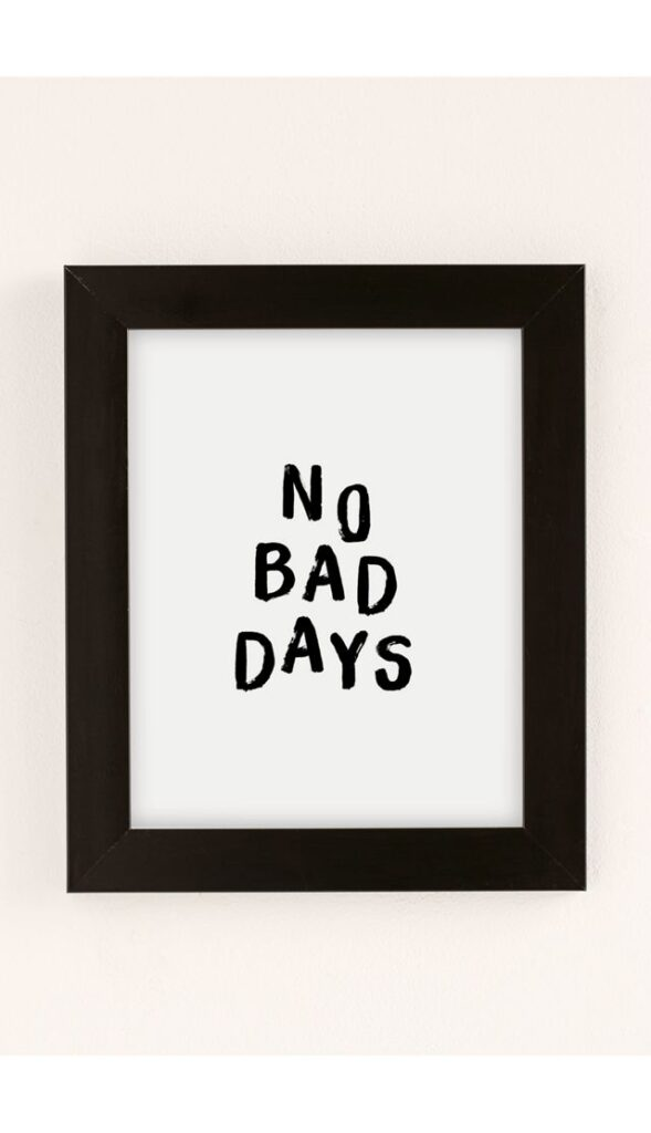 The Nectar Collective No Bad Days Art Print $19.00 – $259.00