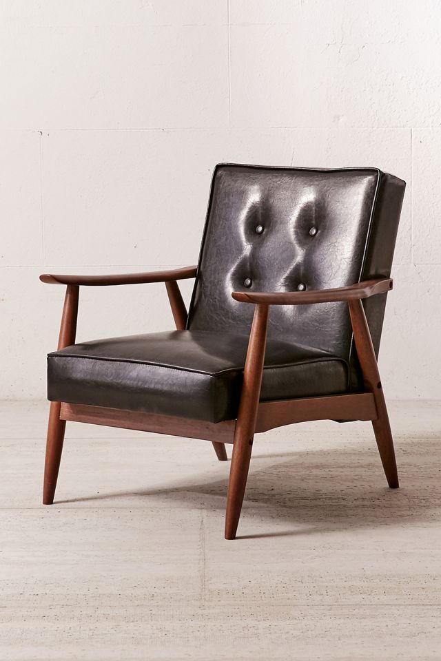 Joaquin Faux Leather Arm Chair $429.00