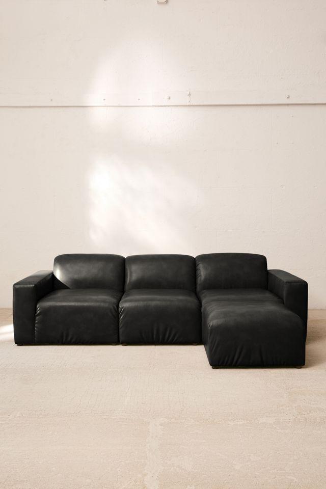 Modular Recycled Leather Sofa $479.00 – $649.00