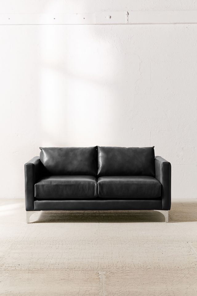 Chamberlin Recycled Leather Love Seat $799.00