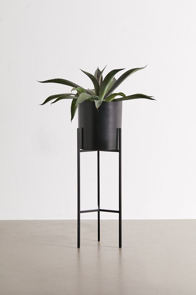 Emma Metal Planter And Stand $69.00