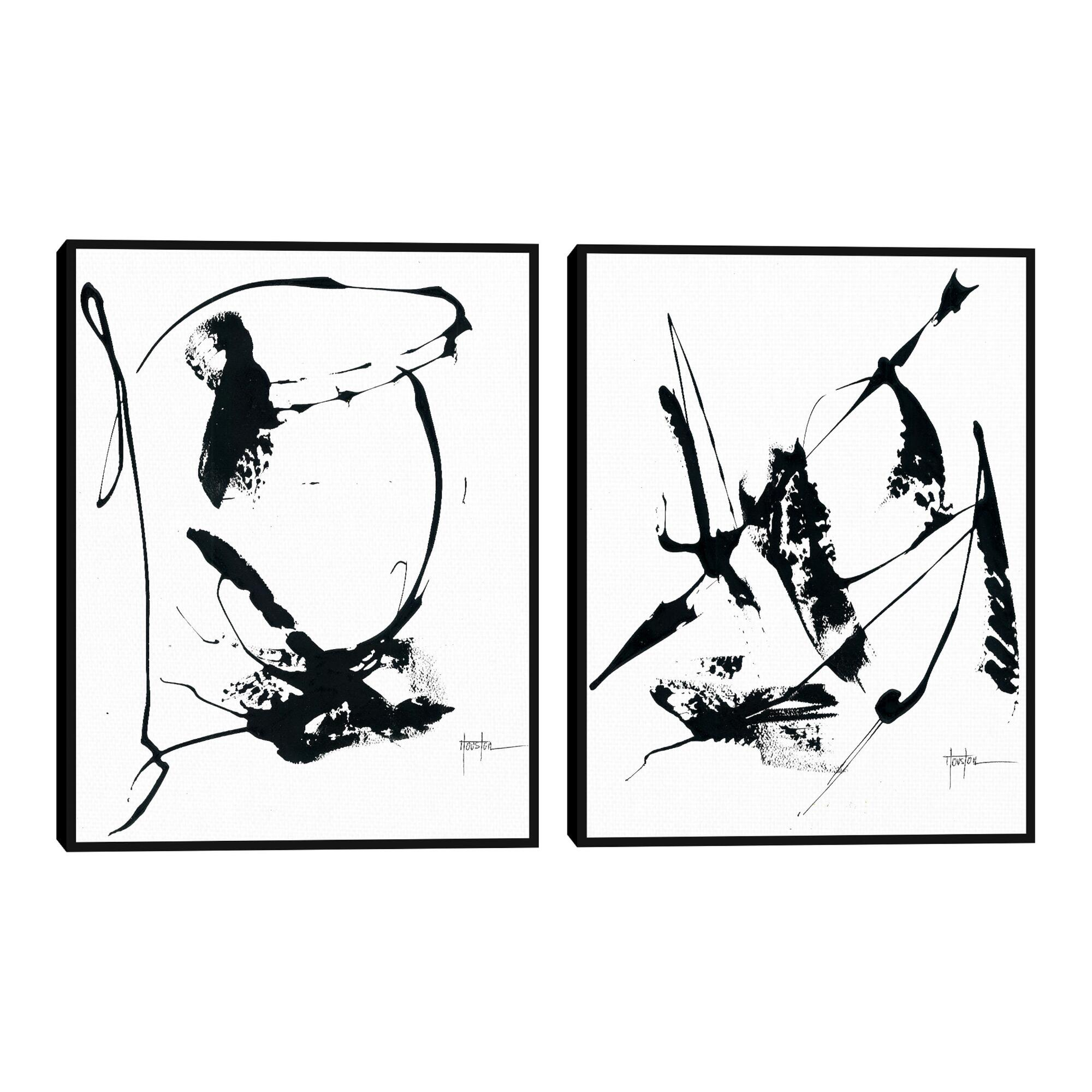 Memories By Dan Houston Framed Canvas Wall Art 2 Piece $199.99