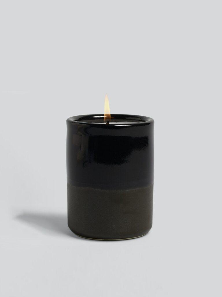 Monhegan Ceramic Candle $55.00