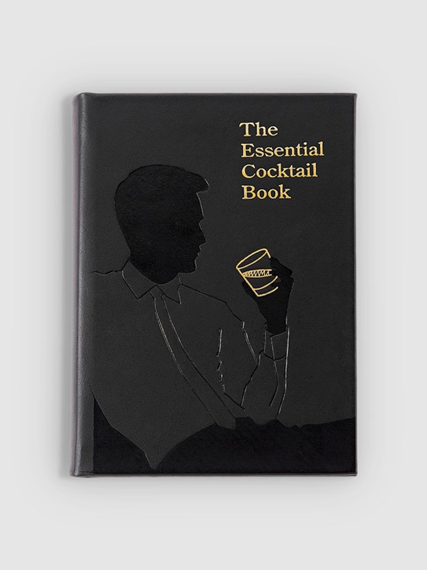The Essential Cocktail Book Genuine Leather $80.00
