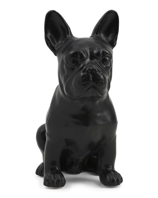 THREE HANDS Bulldog Tabletop Figurine $19.99