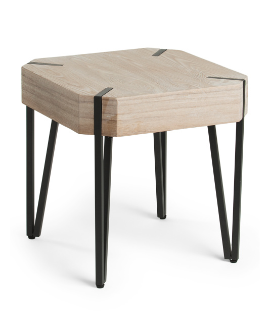 SAGEBROOK HOME Wooden Accent Table $59.99