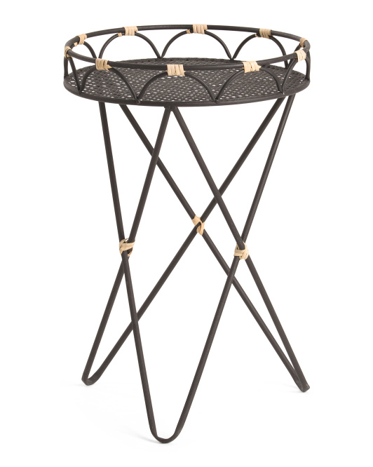 THREE HANDS Faux Wood Stand $49.99
