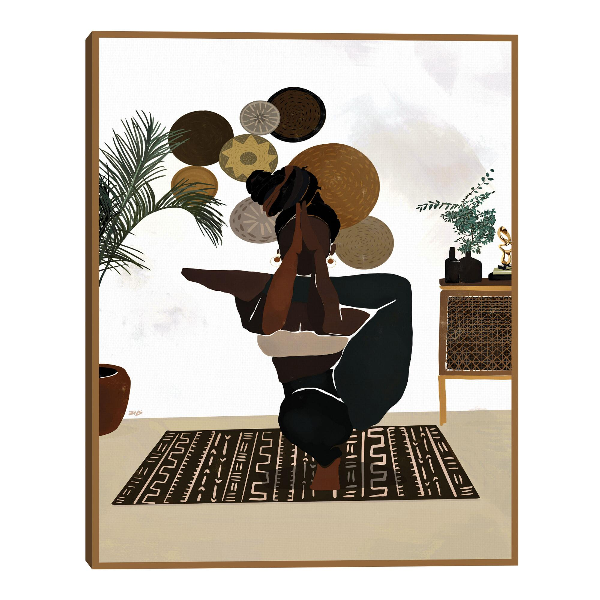 Balance By Bria Nicole Framed Canvas Wall Art $79.99