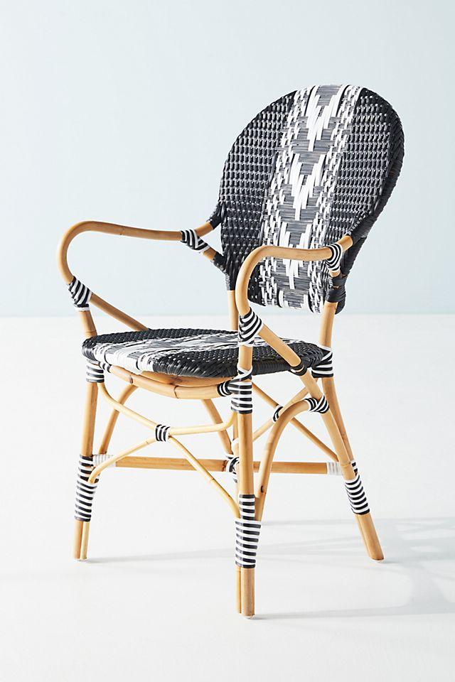 Capri Striped Indoor/Outdoor Bistro Chair $248.00
