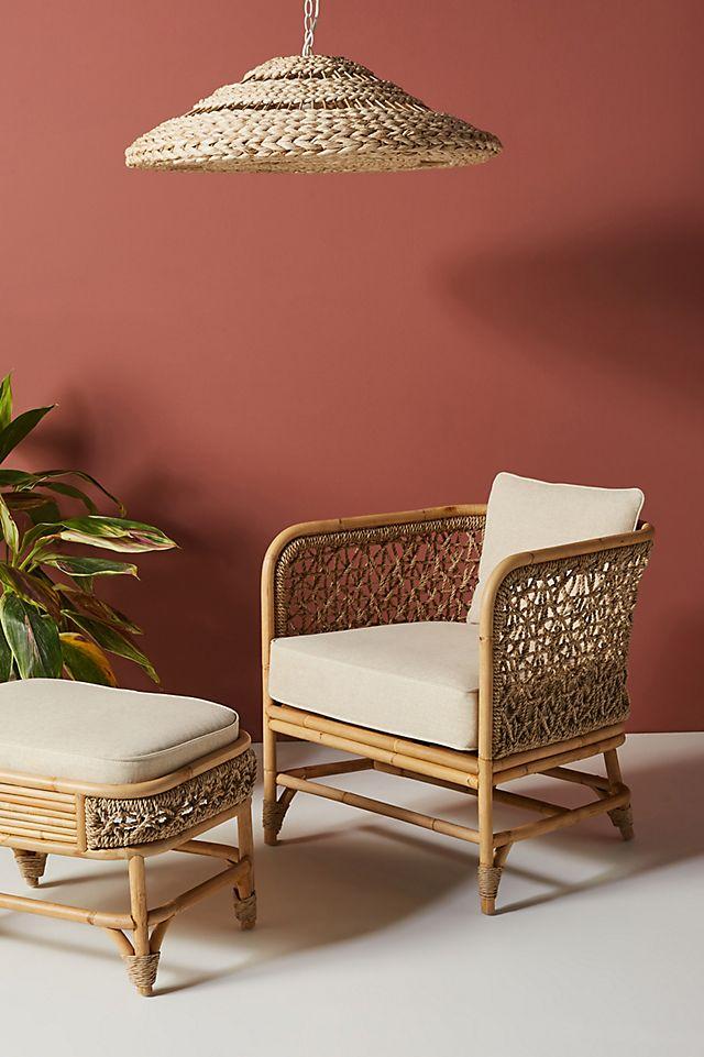 Marigny Rattan Chair $698.00