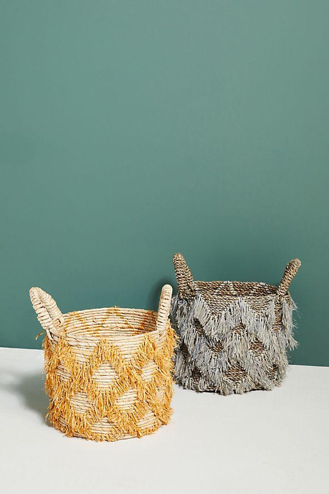 Brandi Fringed Basket $68.00