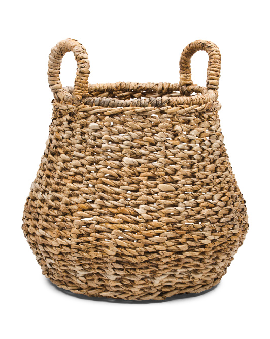 HANDCRAFTED IN INDONESIA Medium Banana Belly Basket $29.99