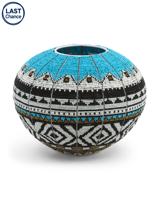 GLOBAL NOMAD Handcrafted In Africa Ndebele Bowl $199.99