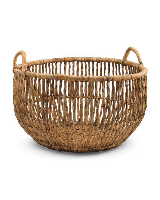 VIET05 Large Open Coconut Basket $29.99
