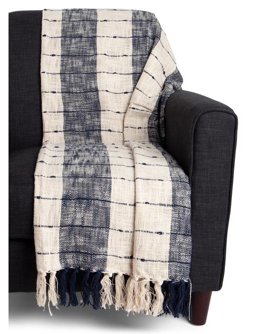 URBAN 86 Cotton Boho Fringe Throw $19.99