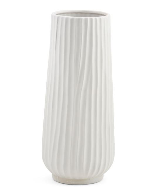 PORT TO PORT 15in Decorative Vase $19.99