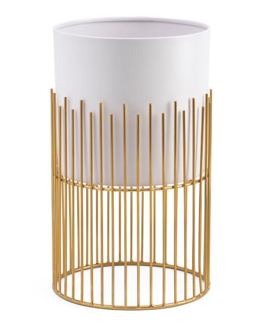 HANDCRAFTED IN INDIA 7.5x12in Wire Stand Planter $16.99