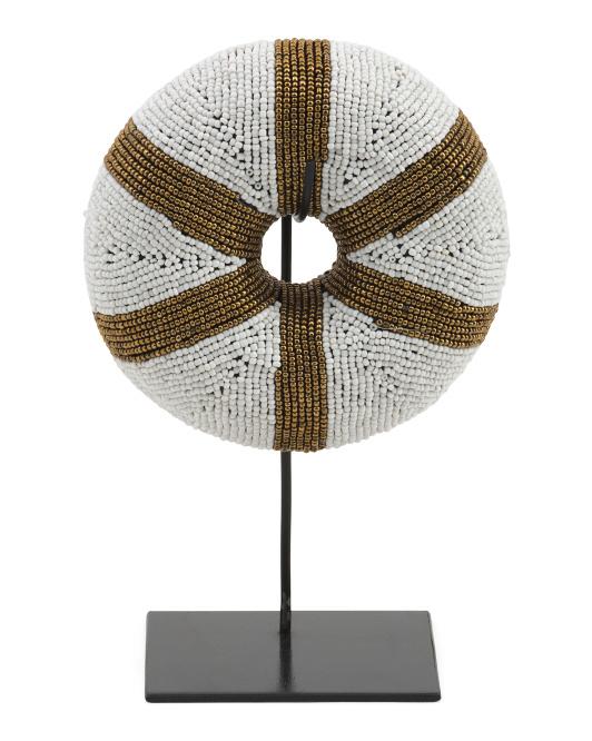 UMA Beaded Bangle Sculpture $59.99