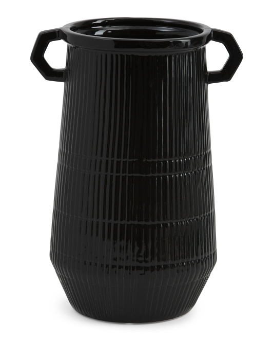 PORT TO PORT 12in Decorative Vase With Handles $19.99