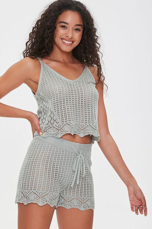 Crochet Cami & Shorts Set $17.50