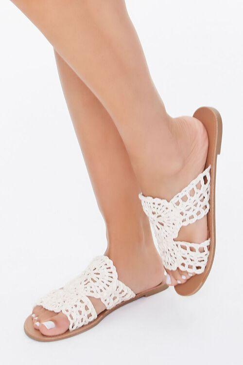 Crochet Flat Sandals $15.99