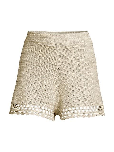 Suboo Pia Crochet Shorts $200