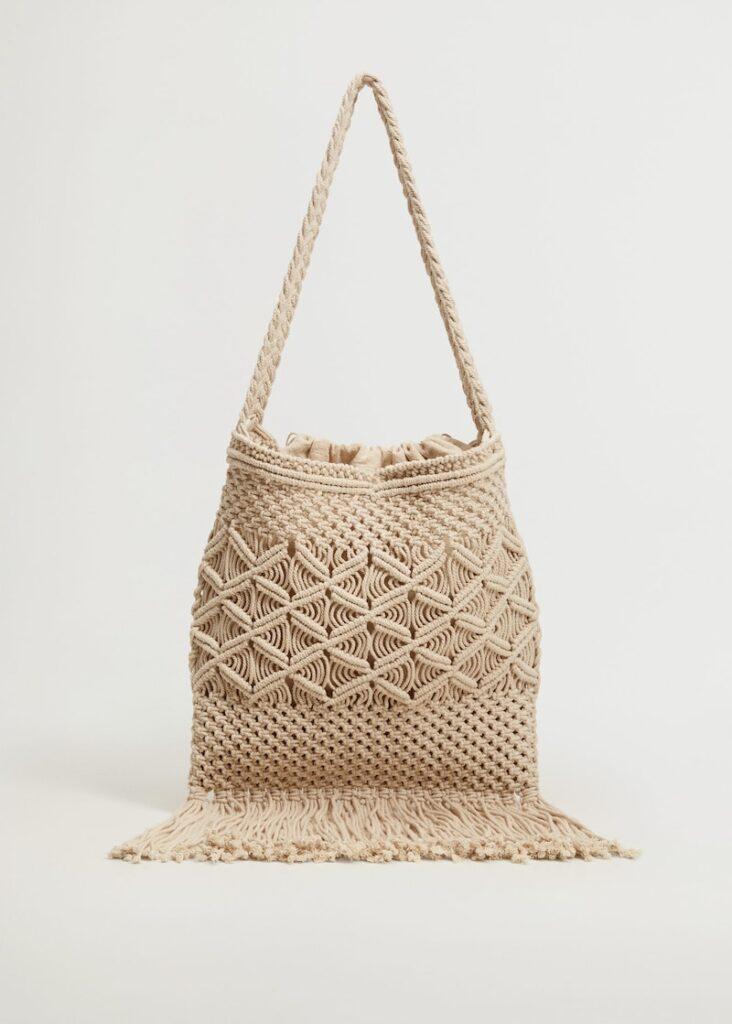 Crochet Tote Bag $68.00