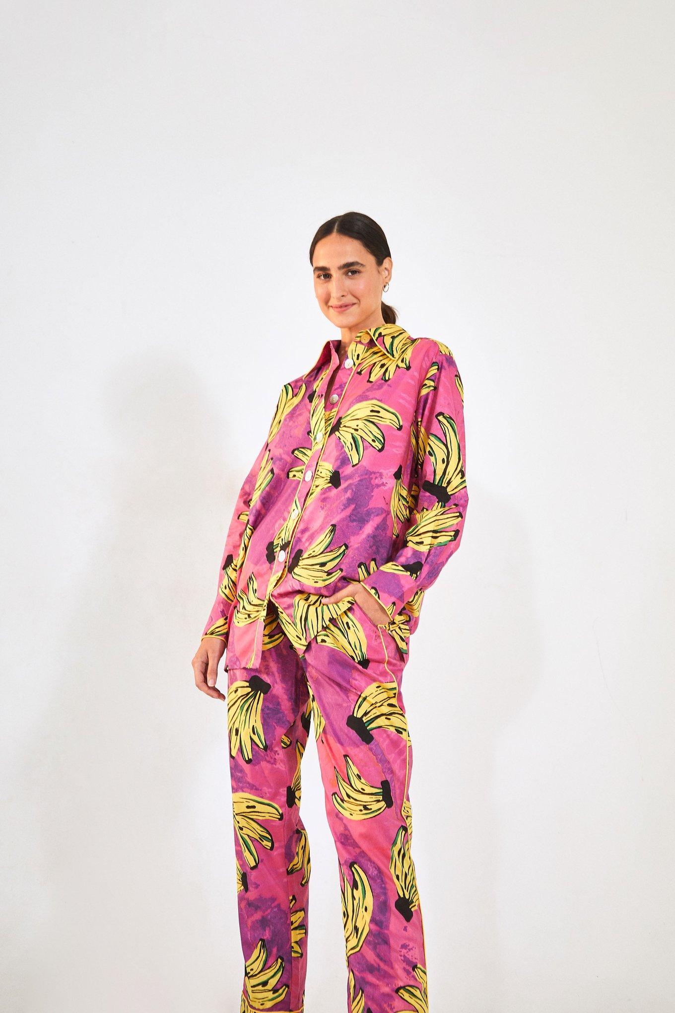 Tie Dye Bananas Pajama Pants $93