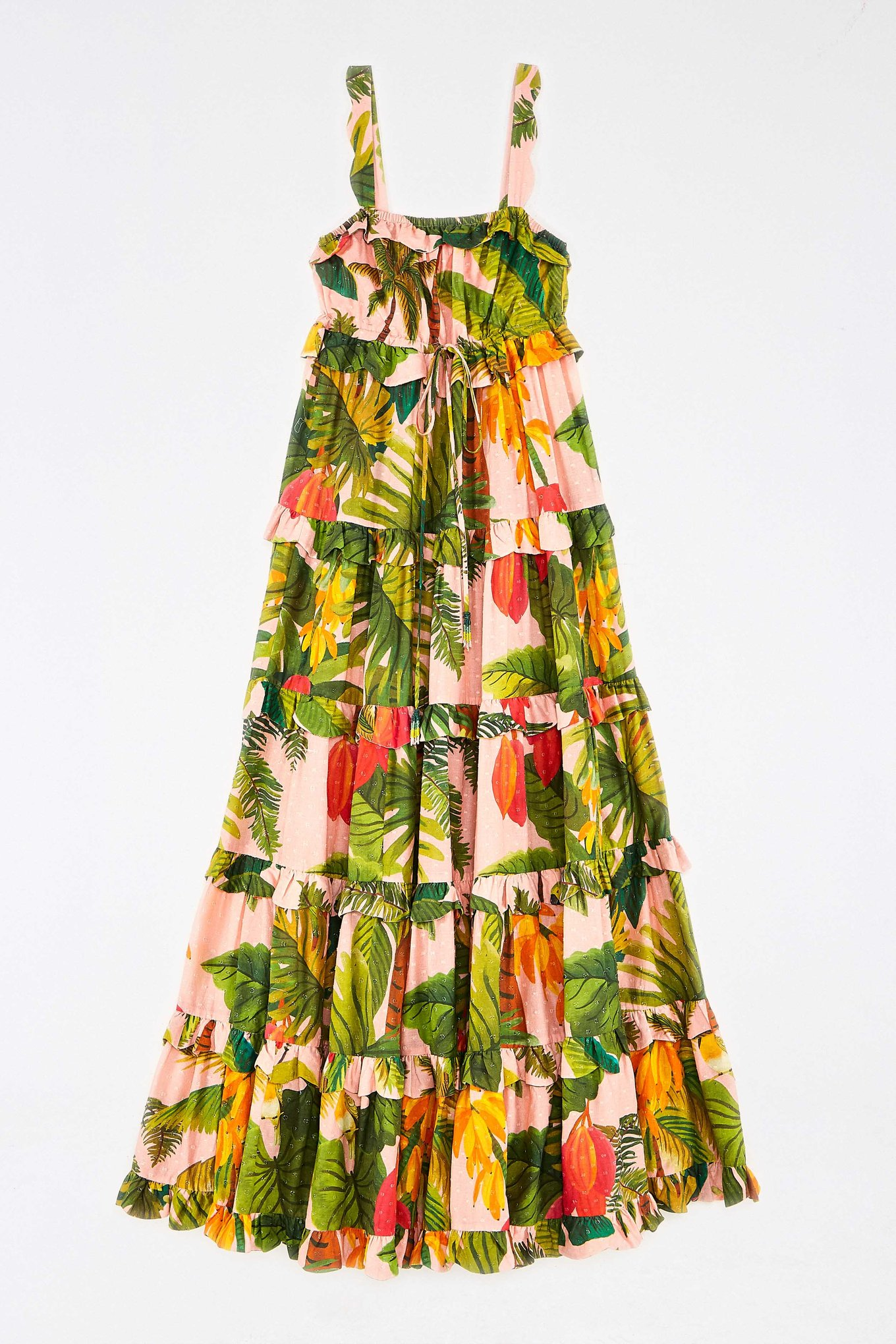 Pink Cocoa Forest Maxi Dress $265